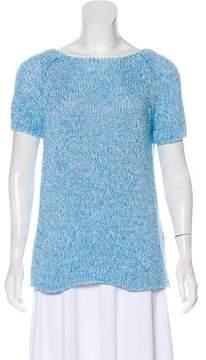 Cinzia Rocca Short Sleeve Knit Top