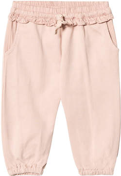 Mini A Ture Noa Noa Miniature Pink Frill Sweatpants