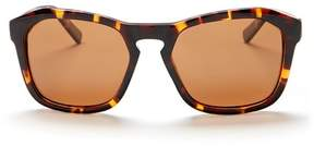 Joe's Jeans Polarized Geometric 57mm Sunglasses