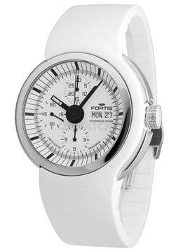 Fortis Spaceleader White Dial Automatic Men's Watch