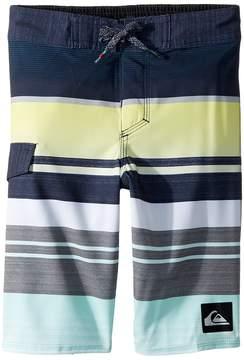Quiksilver Everyday Stripe 14 Boardshorts Boy's Swimwear