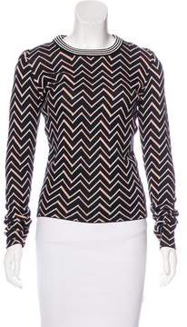 Apiece Apart Patterned Long Sleeve Sweater w/ Tags