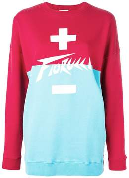 Fiorucci oversized logo sweatshirt