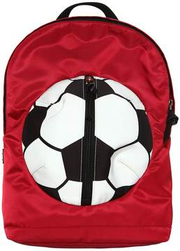 Dolce & Gabbana Soccer Ball Nylon Backpack