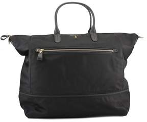 MICHAEL Michael Kors Kelsey Expandable Travel Tote Women Black - BLACK - STYLE