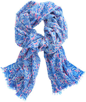 Vineyard Vines Palmetto Print Scarf