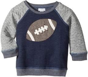 Mud Pie Football Sweatshirt Boy's Sweatshirt