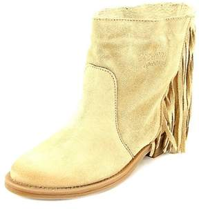 Coolway Naomi Women Round Toe Suede Tan Ankle Boot.