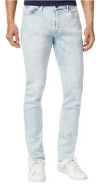 GUESS Mens Tapered Straight Leg Jeans Blue 36x32