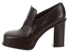 Celine Leather Loafer Pumps