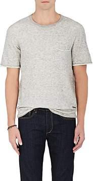 Rag & Bone Men's Tripp Cotton-Wool Short-Sleeve Sweater