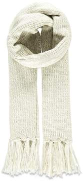 Forever 21 Fringed Cable Knit Scarf
