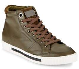Alessandro Dell'Acqua Lace-Up High-Top Sneakers