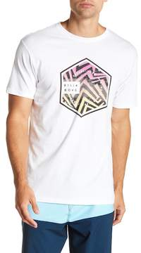Billabong Access Short Sleeve Graphic Print Tailored Fit Tee