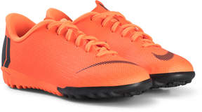 Nike Orange and Black JR Vaporx 12 Academy GS TF Boots
