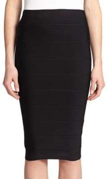 BCBGMAXAZRIA Leger High-Waist Bandage Skirt