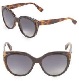Jimmy Choo 56MM Butterfly Sunglasses