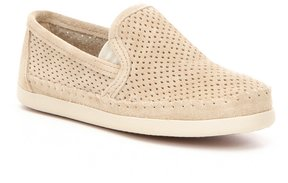 Minnetonka Pacific Perforated Suede Slip-On Shoes