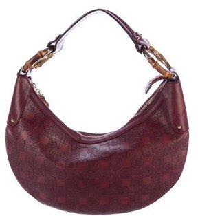 Gucci Horsebit Bamboo Ring Hobo - RED - STYLE
