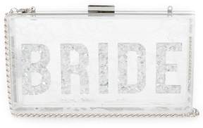 Aldo Lillooet Lucite Bride Clutch