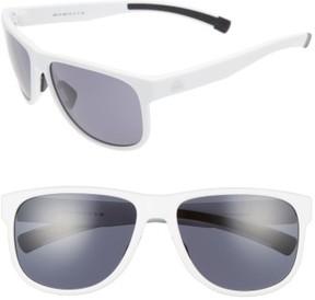 adidas Women's Sprung 60Mm Sunglasses - White Matte/ Grey