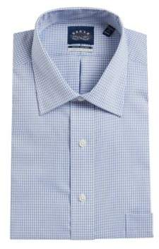 Eagle Checked Button Front Dress Shirt