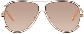 Chloé Rose Gold Isidora Sunglasses