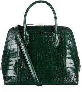 Nancy Gonzalez Medium Crocodile Bugatti Tote