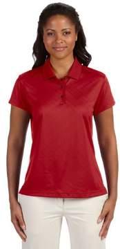 adidas Women's Climacool Diagonal Textured Polo Shirt
