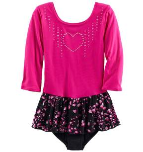 Jacques Moret Girls 4-14 Embellished Falling Petal Skirtall