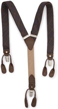 Roundtree & Yorke Classic Plaid Suspenders