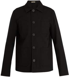 Bottega Veneta Point-collar cotton-blend jacket