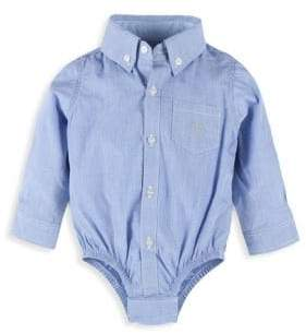 Andy & Evan Baby Boy's Chambray Shirtzie