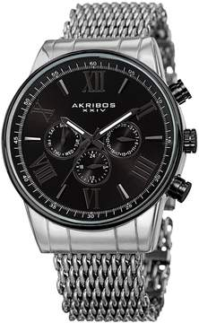 Akribos XXIV Men's Swiss Multifunction Watch, 45mm