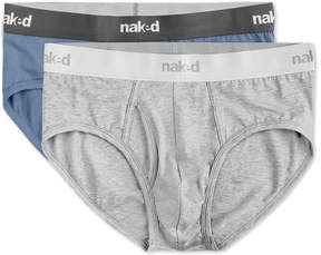Naked Pack Of 2 Briefs