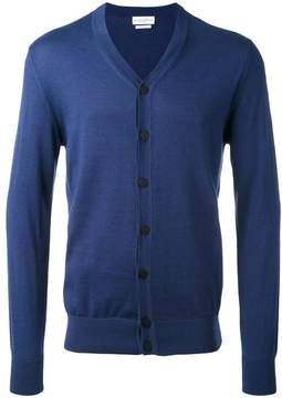 Ballantyne cashmere V-neck cardigan