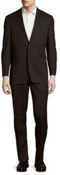 Lauren Ralph Lauren Solid Wool Suit
