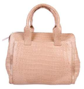 Nancy Gonzalez Crocodile Pocket Tote