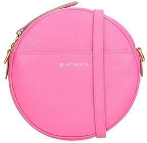 L'Autre Chose Shoking Pink Leather Handbag