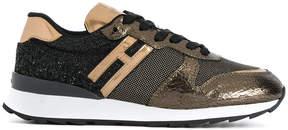 Hogan glitter panel sneakers