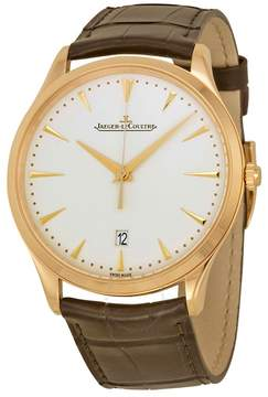 Jaeger-LeCoultre Jaeger Lecoultre Master Ultra Thin Beige Dial Pink Gold Men's Watch