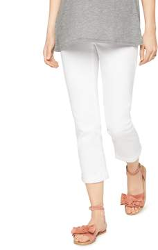 A Pea in the Pod Luxe Essentials Denim Secret Fit Belly Maternity Crop Jeans