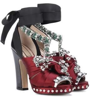 N°21 Althea embellished sandals