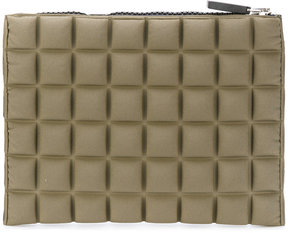 No Ka' Oi mini textured clutch bag