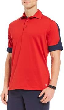 Daniel Cremieux Club 38 Performance Color Block All-Sport Short-Sleeve Polo Shirt
