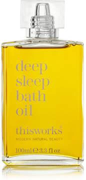 This Works Deep Sleep Bath Oil, 100ml - Colorless