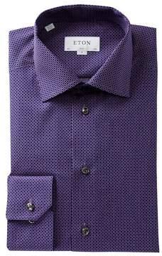 Eton Patterned Slim Fit Dress Shirt
