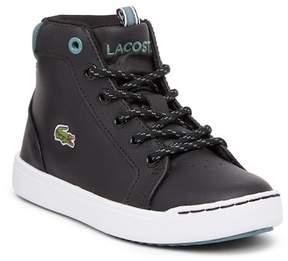 Lacoste Explorateur High Top Sneaker (Little Kid)