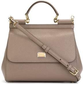 Dolce & Gabbana small Sicily shoulder bag - GREY - STYLE