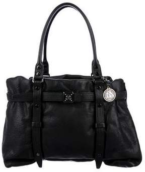 Lanvin Belted Leather Tote